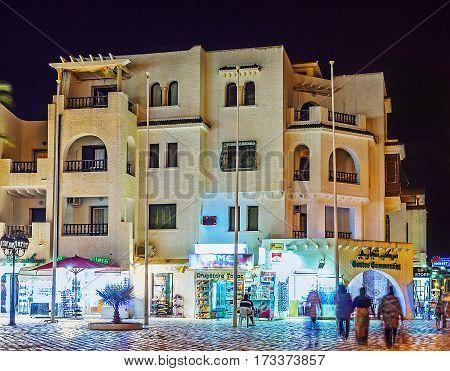 The Stores Of El Kantaoui