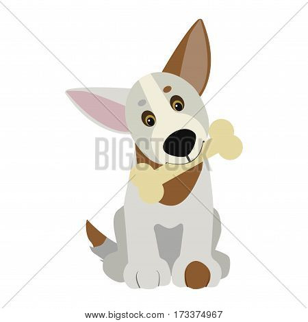 Dog Vector Illustration