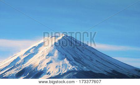 Fuji Mountain Landscape