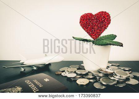 Saving money bit by bit for Honeymoon travel