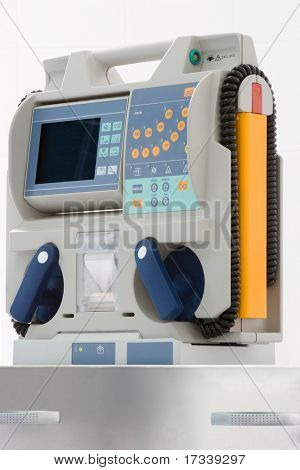 defibrillator for emergency room