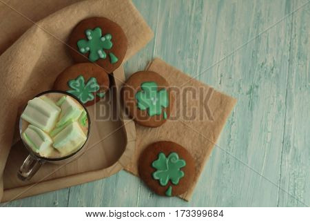Homemade St Patrick Day Cookies
