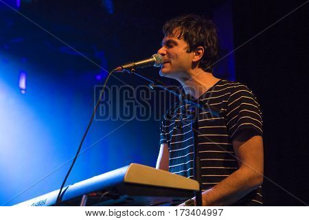 Amsterdam The Netherlands - 24 February 2017 - Support act Gringo Star before concert of American band The Orwells at Paradiso Noord - De Tolhuistuin