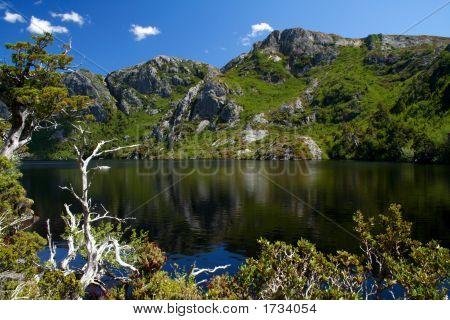 A Lake On The Mountains