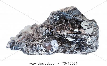 Sample Of Hematite (iron Ore) Stone Isolated