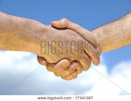 hands making good deal