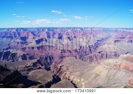 Panorama dal parco nazionale del Grand Canyon