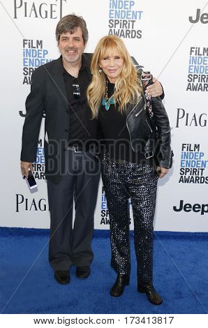 Rosanna Arquette at the 2017 Film Independent Spirit Awards held at the Santa Monica Pier in Santa Monica, USA on February 25, 2017.