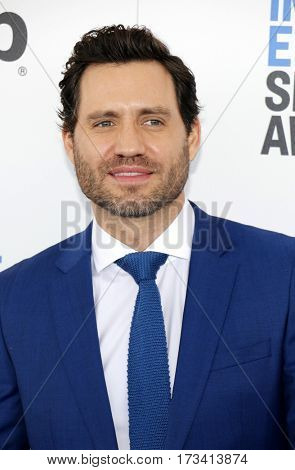 Edgar Ramirez at the 2017 Film Independent Spirit Awards held at the Santa Monica Pier in Santa Monica, USA on February 25, 2017.