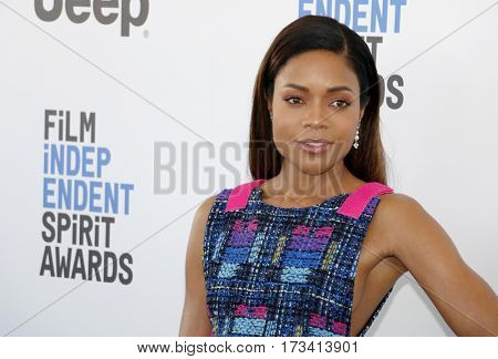 Naomie Harris at the 2017 Film Independent Spirit Awards held at the Santa Monica Pier in Santa Monica, USA on February 25, 2017.