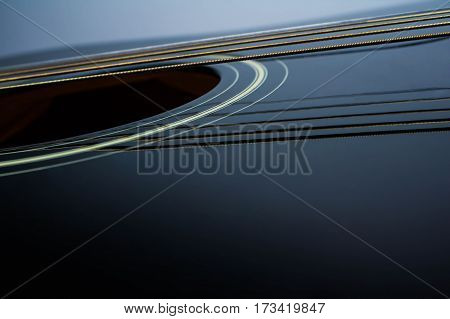 Guitar Strings, close up. Acoustic guitar acoustic, music instrument musical