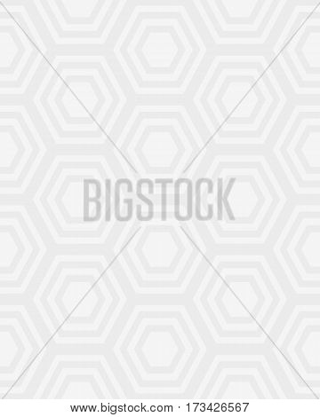 Seamless pattern with gray honeycomb, fashion design