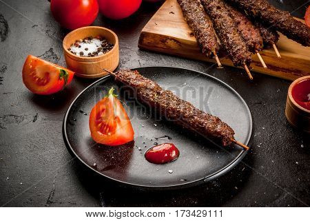 Shish Kebab On A Sticks