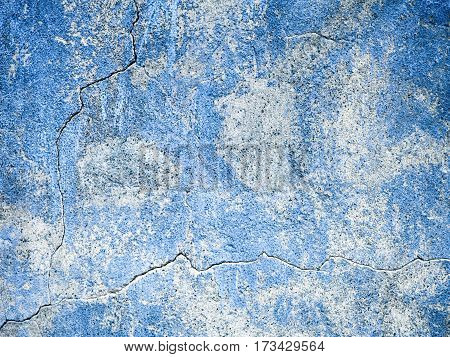 Blue textured surface. grain bank canvas background