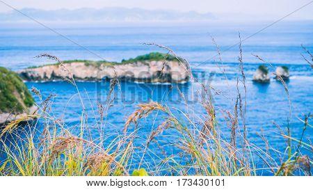 Nusa Penida Rocky North Coastline, Bali, Indonesia