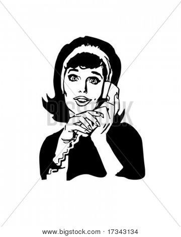 Hold The Phone - Housewife Chatting
