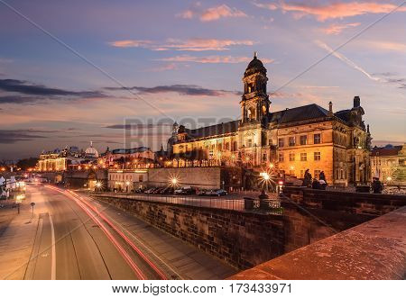 The Higher Regional Court Of Dresden Saxony Germany.