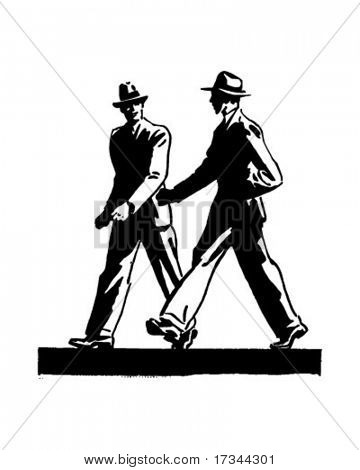 Multi Sport Clipart - Two Boys Walking Clipart - Png Download - Full Size  Clipart (#61407) - PinClipart