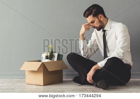 Businessman Getting Fired
