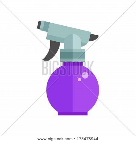 Garden sprayer icon. Spray bottle vector illustration in flat design.