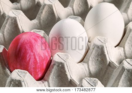 Easter Eggs In A Cassette