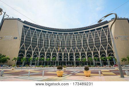 Ministry Of Finance In Putrajaya, Malaysia