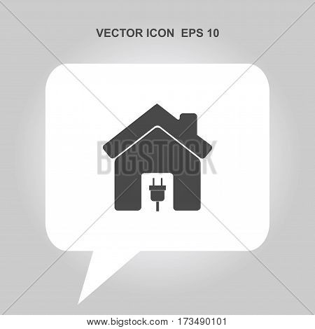 home with electric plug Icon, home with electric plug Icon Eps10, home with electric plug Icon Vector, home with electric plug Icon Eps, home with electric plug Icon Jpg, home with electric plug Icon Picture