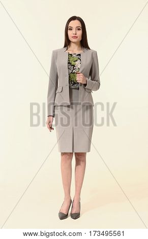 Brunette Business Executive Woman