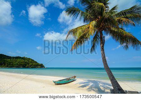Seascape Of Phu Quoc Island In Vietnam