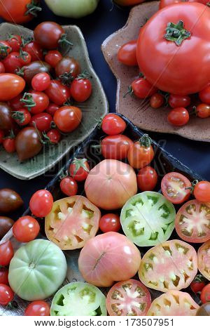 Collect Of Tomatoes, Cheap Food Anticancer