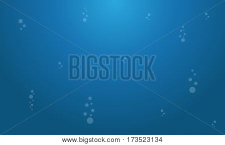 Landscape of underwater background vector collection stock