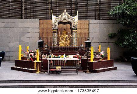 house of spirits god brahma  Buddhism decoration