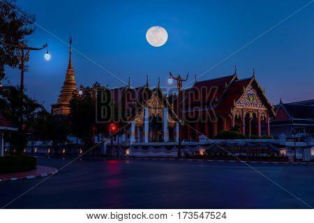 Wat Phra That Chang Kham Worawihan.