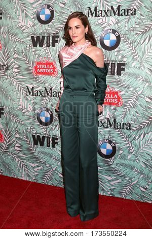 LOS ANGELES - FEB 24:  Michelle Dockery at the 10th Annual Women in Film Pre-Oscar Cocktail Party at Nightingale Plaza on February 24, 2017 in Los Angeles, CA