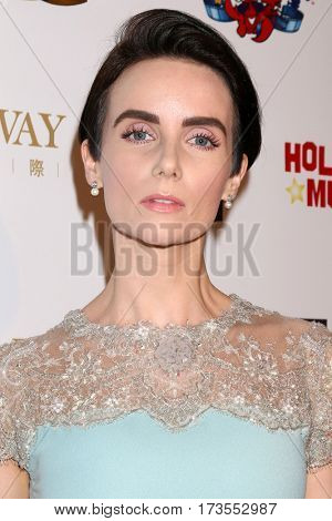 LOS ANGELES - FEB 26:  Victoria Summer at the Style Hollywood Oscar Viewing Dinner at Hollywood Museum on February 26, 2017 in Los Angeles, CA
