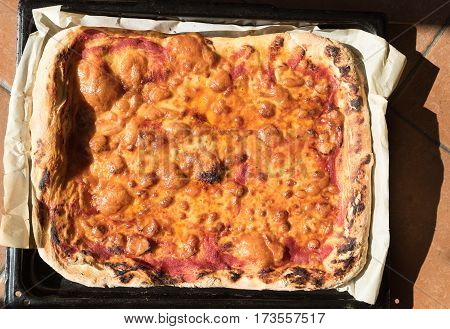 Pizza Margherita Homemade