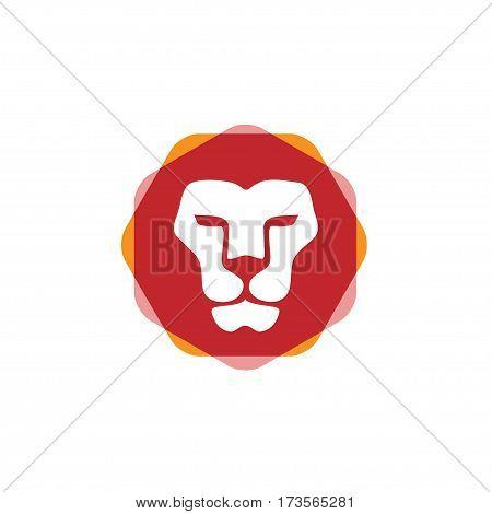 trend Lion head vector- vector sign concept illustration. Lion head logo. Wild lion head graphic illustration. Design element.