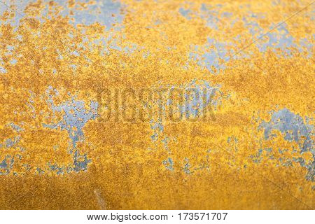 Background Of Rusty Sheet Metal
