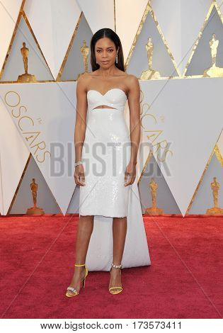 Naomie Harris at the 89th Annual Academy Awards held at the Hollywood and Highland Center in Hollywood, USA on February 26, 2017.