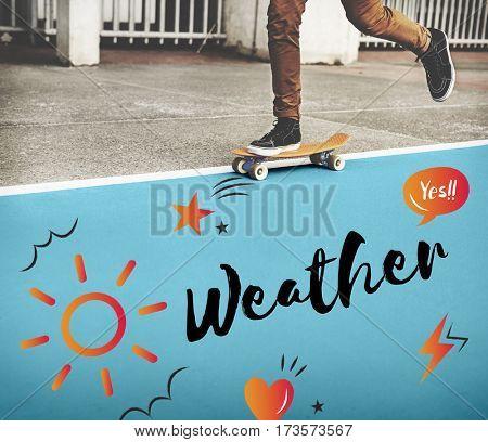 Holiday Season Weather Climate Break