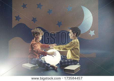 Two Boys In A Dream