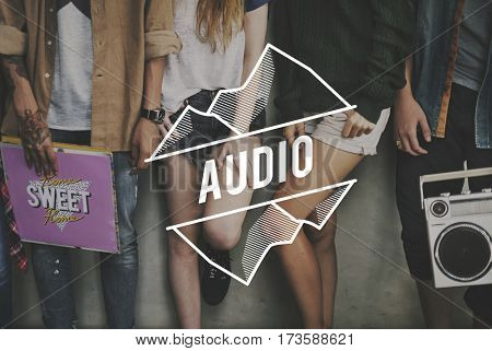 Audio Be Cool Friendship Retro