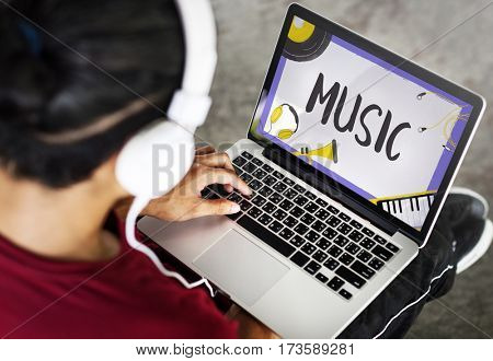 Music Pop Jazz Hiphop Melody