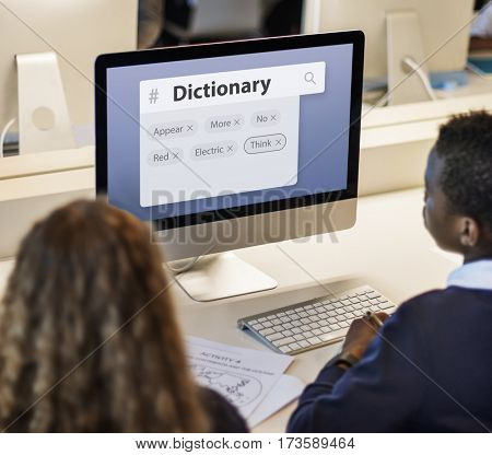 Dictionary Search Support Literacy Service
