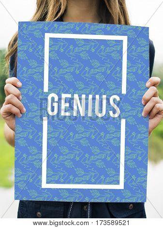 Genius Inspiration Originality Passion Confidence