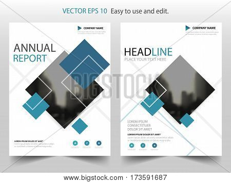 Blue black label Vector Brochure annual report Leaflet Flyer template design book cover layout design abstract business presentation template a4 size design