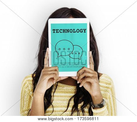Digital Connection Technology Social Media