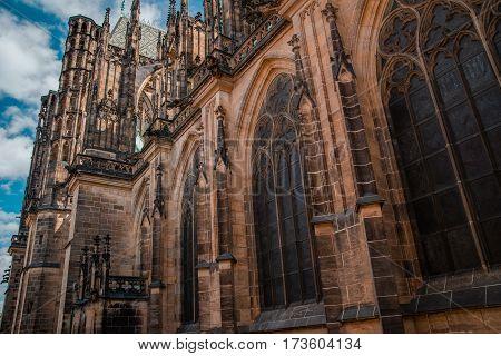 Saint Vitus Cathedral in Prague, Czech Republic