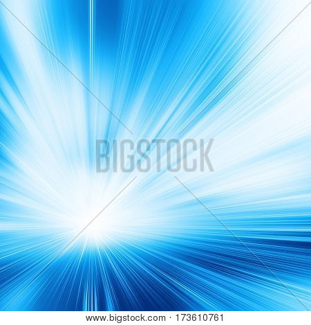 Abstract toned image of high speed in tunnel.