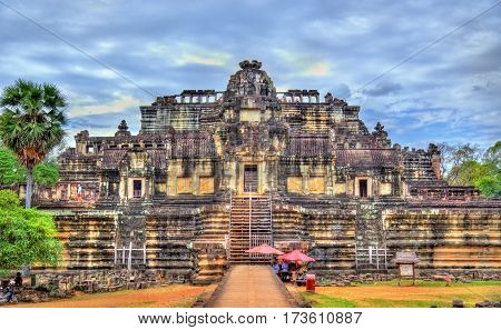 View of Baphuon temple at Angkor Thom - Siem Reap, Cambodia